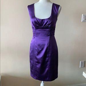 Marciano Silk Purple Dress